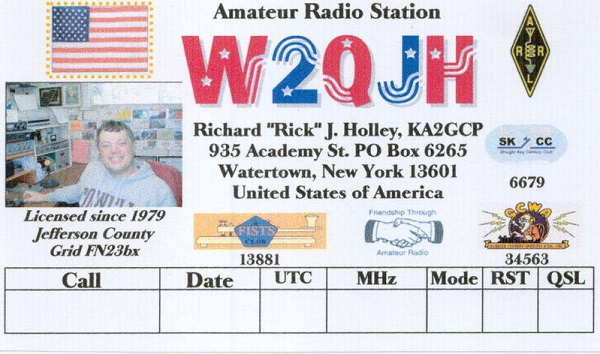 W2QJH - Richard J. Holley