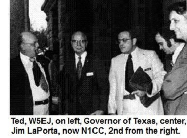 Meeting with the Governor of Texas, 1972