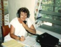 Jan WA2YL, Operating from Niue Island, 1988